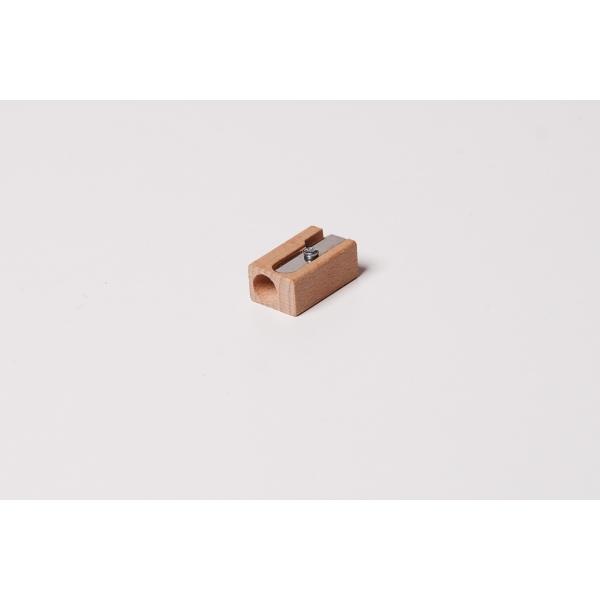 Bleistiftanspitzer aus Holz