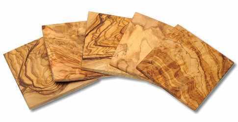 Untersetzer aus OLivenholz