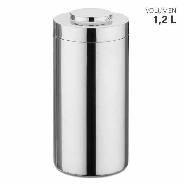 Vorratsdose aus Edelstahl, stapelbar 1200 ml