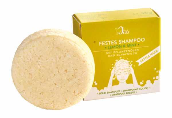 Festes Shampoo Lemon & Mint
