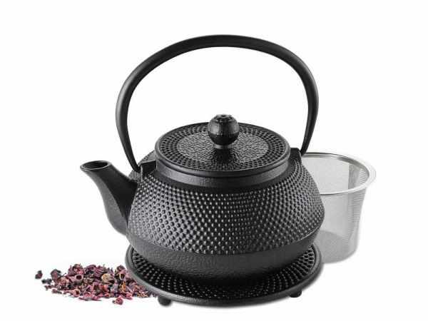 Teekanne aus Gusseisen 0,7 Liter