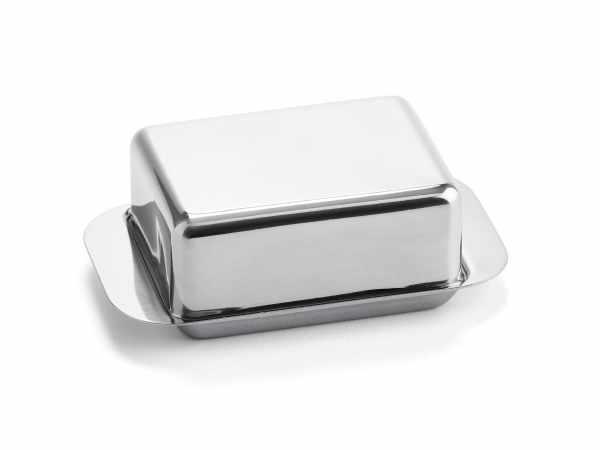 Butterdose Edelstahl 125 Gramm