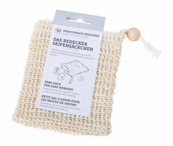 Seifensäckchen aus Baumwolle & Sisal