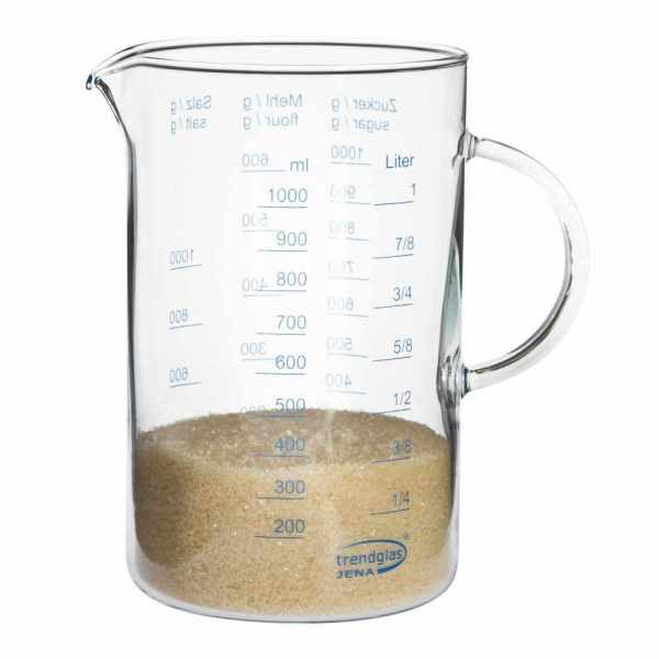 Messbecher Glas 1 Liter