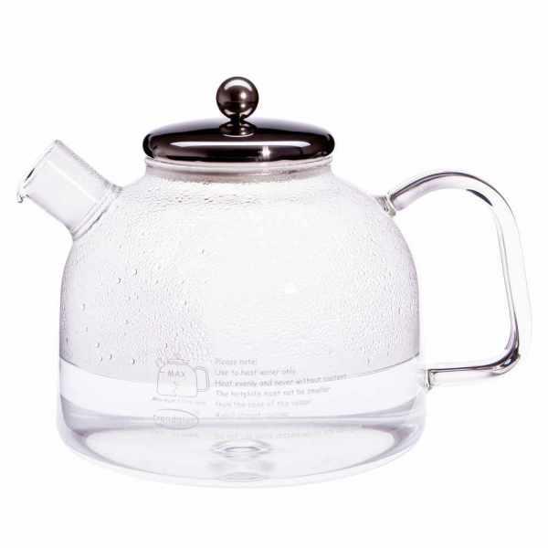 Wasserkessel aus Glas 1,75 Liter
