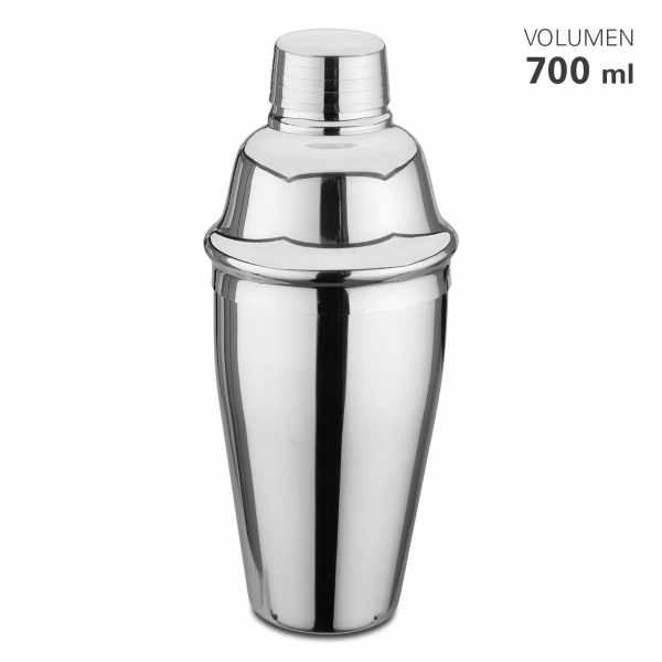 Cocktail-Shaker 0,7 L aus Edelstahl