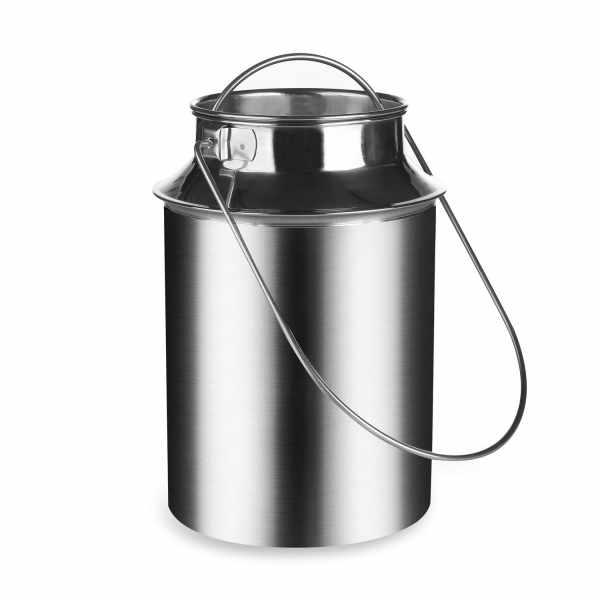 Milchkanne aus Edelstahl 5,5 Liter