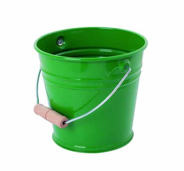 Kinder Sandeimer Metall Farbe grün