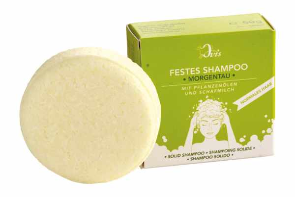 festes Shampoo Morgentau
