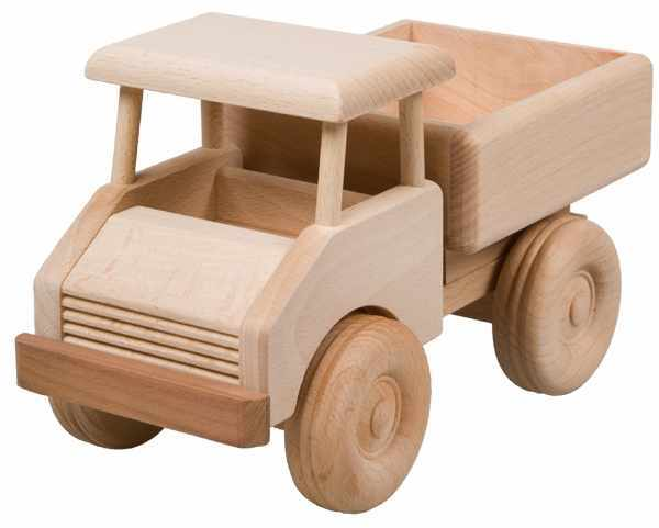 LKW aus Holz für Kinder an 3 Jahren