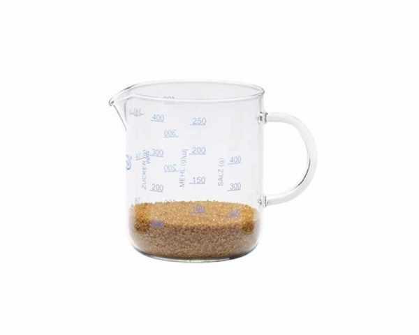 Messbecher Glas 0.5 Liter